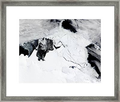 C-19 Iceberg Framed Print