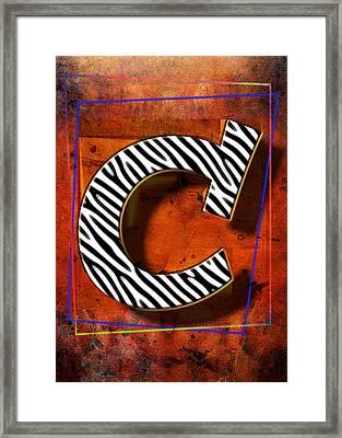 C Framed Print by Mauro Celotti