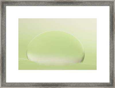 C Ribet Orbscape Contemplation Framed Print by C Ribet