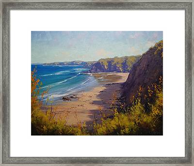 Cabbage Tree Bay Nsw Framed Print