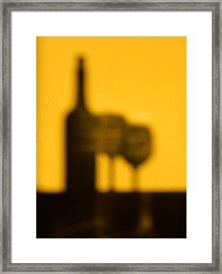 Framed Print featuring the photograph Cabernet Afternoon by Everette McMahan jr