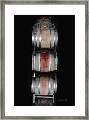 Cabernet Framed Print by Donna Blackhall