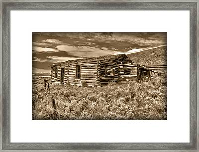 Cabin Fever Framed Print by Shane Bechler