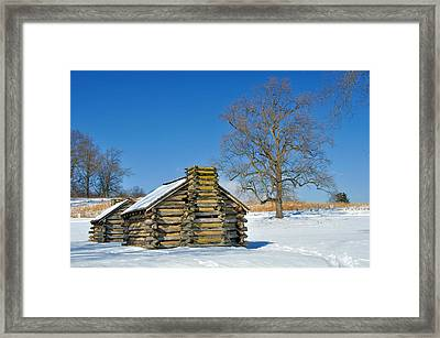 Cabin Framed Print by Gaetano Chieffo