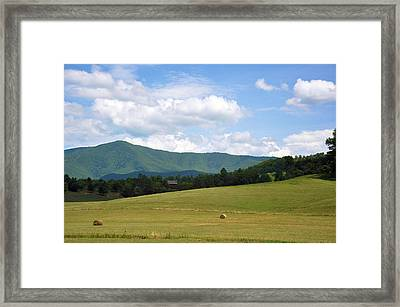 Cabin In The Smokies Framed Print