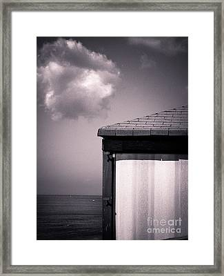 Cabin With Cloud Framed Print by Silvia Ganora