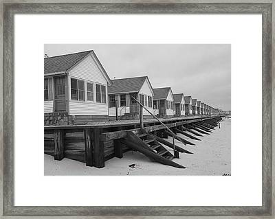 Cabins At Truro Framed Print