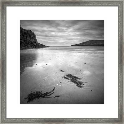 Cable Bay On Anglesey Framed Print by Andy Astbury