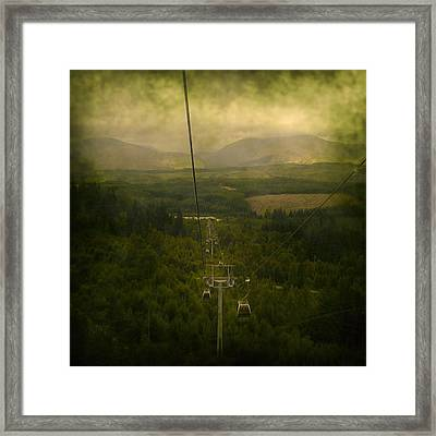 Cable Cars Framed Print by Svetlana Sewell