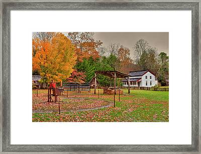 Cable Mill Yard II Framed Print by Charles Warren