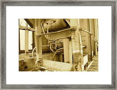 Caboose Framed Print by Thomas Brown