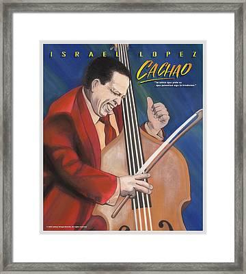 Cachao  Framed Print by John Crespo Estrella