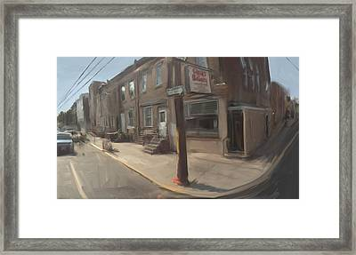 Cacia's Bakery Philadelphia  Framed Print by RG McMahon