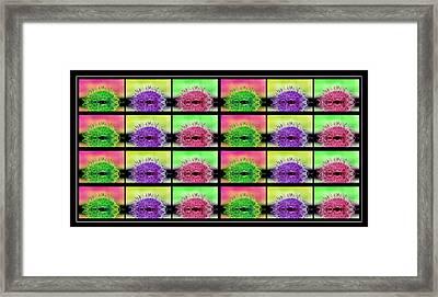 Cactus Dreaming Framed Print by Edie Kynard