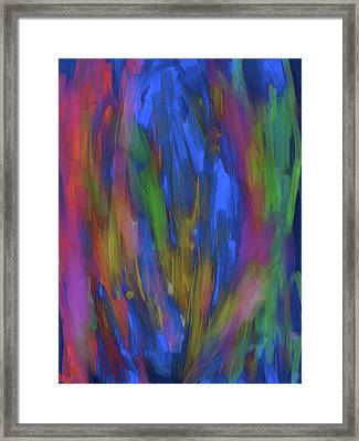 Cactus Trance Framed Print
