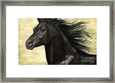 Framed Print featuring the painting Cadence by Sheri Gordon