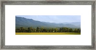 Cades Cove Framed Print by James Massey