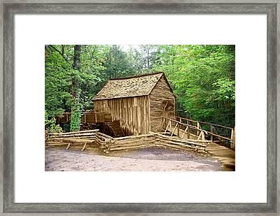 Cades Cove Mill Framed Print by Marty Koch