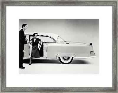 Cadillac, 1954 Framed Print