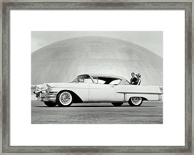 Cadillac, 1957 Framed Print