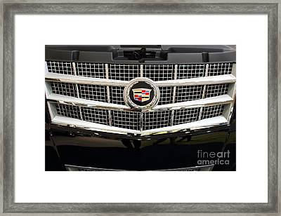 Cadillac . 7d9524 Framed Print by Wingsdomain Art and Photography