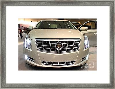 Cadillac . 7d9560 Framed Print by Wingsdomain Art and Photography