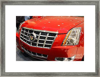 Cadillac . 7d9561 Framed Print by Wingsdomain Art and Photography