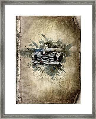 Cadillac Aldham Framed Print by Svetlana Sewell