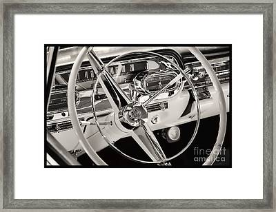 Cadillac Control Panel Framed Print by Miso Jovicic