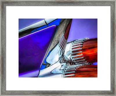 Cadillac Framed Print by Pattie  Stokes