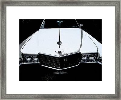 Cadillac Pimp Mobile Framed Print by Kym Backland