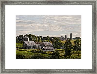 Cadis Farm Framed Print