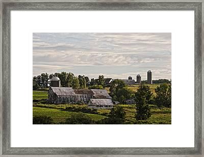 Cadis Farm Framed Print