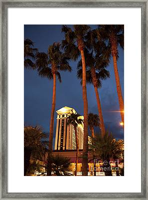 Caesars Palace 6 Framed Print by Jane Rix