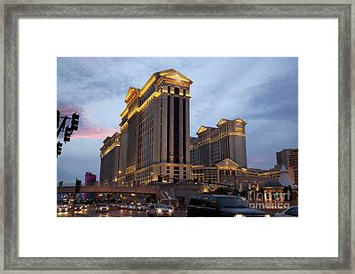 Caesars Palace  Framed Print by Jane Rix