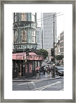 Cafe Zoetrope  Framed Print