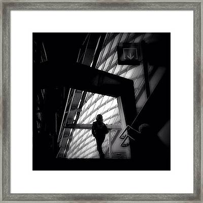 Caged Living - Concrete Jungle Framed Print