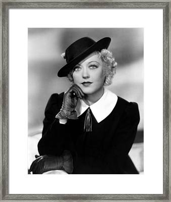 Cain And Mabel, Marion Davies, 1936 Framed Print