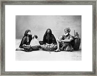 Cairo: Natives Framed Print
