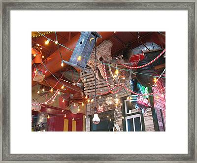 Cajun Madness Framed Print by Shawn Hughes
