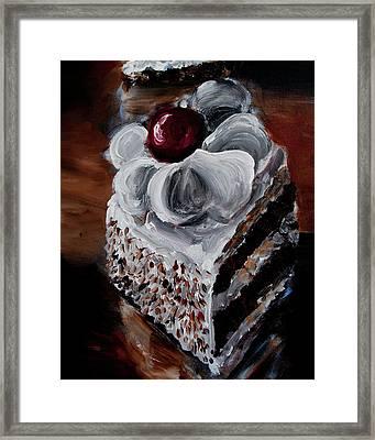 Cake 07 Framed Print