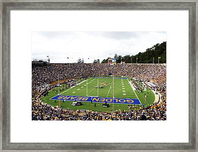 Cal  Memorial Stadium Framed Print by Icon Sports Media