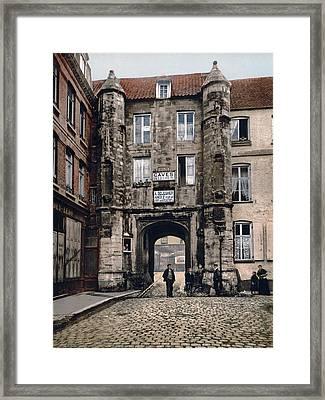 Calais - France - Hotel Des Guises Framed Print by International  Images