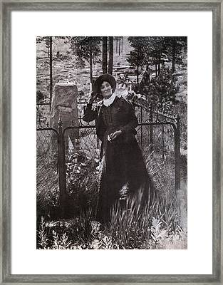 Calamity Jane Martha Jane Burke Framed Print by Everett