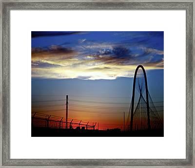 Calatrava Bridge Framed Print by Snow White