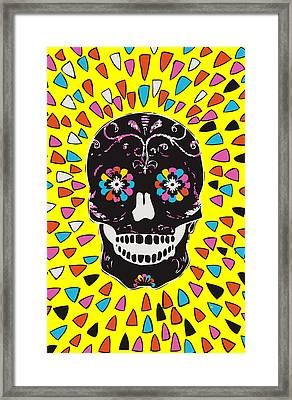 Calavera. Framed Print by JF Mondello