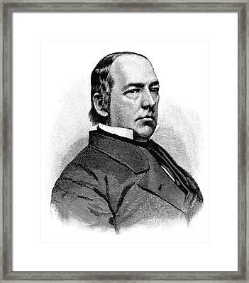 Caleb Blood Smith Framed Print