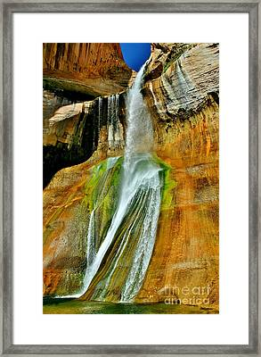 Calf Creek Falls II Framed Print