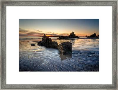 Cali Sunset Framed Print by Brian Leon