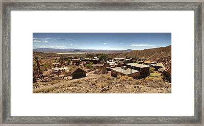 Calico Ghost Town 3 Framed Print by Jessica Velasco